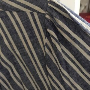 Anthropologie Tops - Anthropologie AISH willow stripe tunic worn 1x med